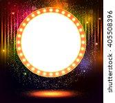 abstract shining retro light... | Shutterstock .eps vector #405508396