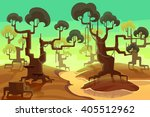 creative illustration and... | Shutterstock . vector #405512962