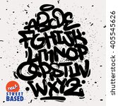 Bubble Handletterin Graffiti...