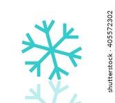 snowflake icon  winter design ...