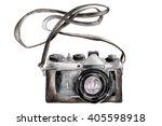 hand drawn watercolor photo... | Shutterstock . vector #405598918