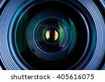 photography lens extreme close... | Shutterstock . vector #405616075