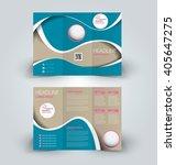 brochure mock up design...   Shutterstock .eps vector #405647275