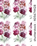 seamless pattern with... | Shutterstock . vector #405674428