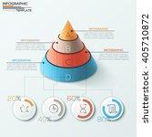 3d modern infographics options... | Shutterstock .eps vector #405710872