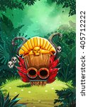jungle shamans mobile user... | Shutterstock . vector #405712222