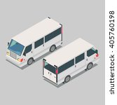 isometric  car  front end rear...   Shutterstock .eps vector #405760198