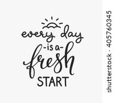 lettering quotes motivation for ... | Shutterstock .eps vector #405760345