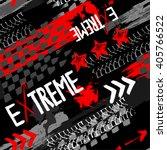 abstract seamless grunge... | Shutterstock .eps vector #405766522