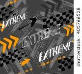 abstract seamless grunge... | Shutterstock .eps vector #405766528
