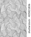abstract seamless geometrical... | Shutterstock . vector #405821836