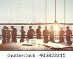 business people planning... | Shutterstock . vector #405823315