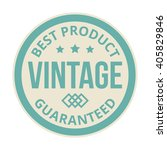 badge retro premium design... | Shutterstock .eps vector #405829846
