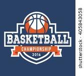 sport basketball logo. american ...   Shutterstock .eps vector #405843058
