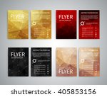 flyer design templates. set of... | Shutterstock .eps vector #405853156