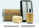 car engine air filters | Shutterstock . vector #405860032