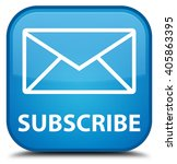 Subscribe  Email Icon  Cyan...