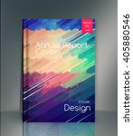 annual report cover. cover... | Shutterstock .eps vector #405880546