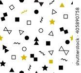 geometric seamless pattern ... | Shutterstock .eps vector #405890758