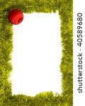 new year frame | Shutterstock . vector #40589680