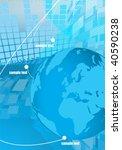 digital earth | Shutterstock .eps vector #40590238