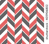 seamless zigzag pattern.... | Shutterstock .eps vector #405906802