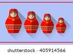 Babushka Russian Doll Flat...