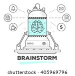 vector illustration of creative ... | Shutterstock .eps vector #405969796