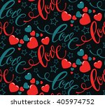 Valentines Day. Love Abstract...