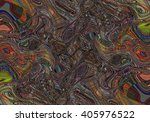 colorful psychedelic background ... | Shutterstock . vector #405976522