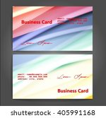 stylish business cards with... | Shutterstock .eps vector #405991168