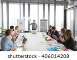 hipster business man holding... | Shutterstock . vector #406014208