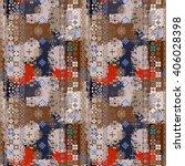 ethnic boho seamless pattern....   Shutterstock .eps vector #406028398