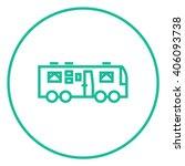 motorhome line icon.   Shutterstock .eps vector #406093738