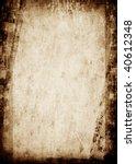 grunge film strip background | Shutterstock . vector #40612348