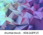 purple and green abstract... | Shutterstock .eps vector #406168915