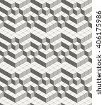 modern abstract geometric... | Shutterstock .eps vector #406175986