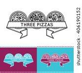 logo for pizzeria | Shutterstock .eps vector #406190152