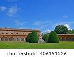 certosa of ferrara  the ancient ... | Shutterstock . vector #406191526