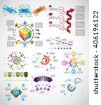vector of infographic | Shutterstock .eps vector #406196122