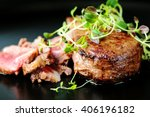 Delicious Beef Steak On A Plat...