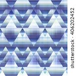 abstract geo triangles and... | Shutterstock . vector #406202452