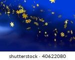christmas snowflake | Shutterstock . vector #40622080