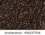 coffee beans coffee beans | Shutterstock . vector #406257556
