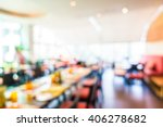 abstract blur restaurant... | Shutterstock . vector #406278682