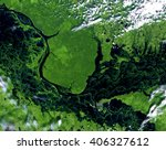Ob River  Spring  From Landsat...