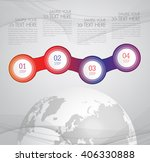 modern infographic design with  ...