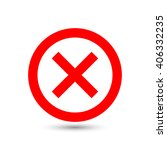 check mark or tick icon in... | Shutterstock .eps vector #406332235