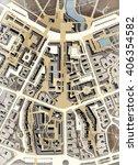 city plan sepia colors     Shutterstock . vector #406354582