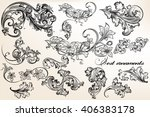 a collection or set of...   Shutterstock .eps vector #406383178